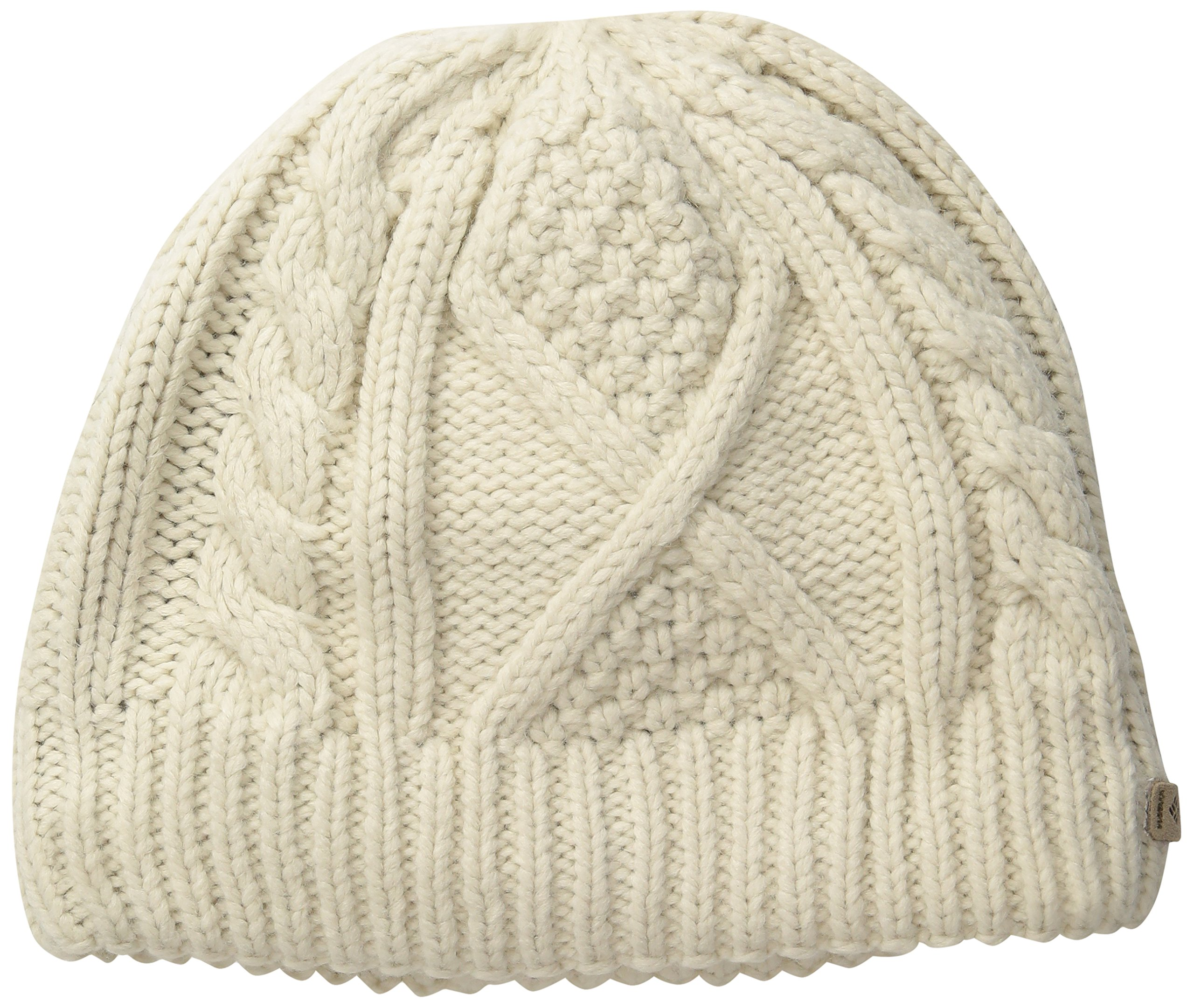 Columbia Women's Cabled Cutie Beanie, Chalk, One Size (6 1/2-7 1/2)