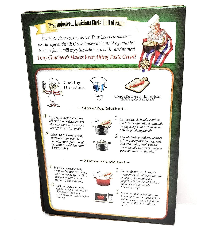 Amazon.com : Tony Chacheres Famous Creole Cuisine Dinner ...