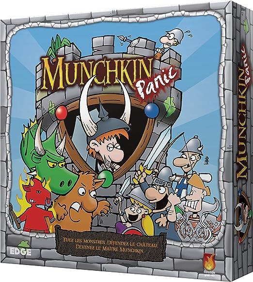 Asmodee – ubifmp01 – Munchkin Panic: Amazon.es: Juguetes y juegos