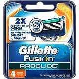 Ancienne Version/Gillette Fusion ProGlide Lames De Rasoir Pour Homme - 4Recharges