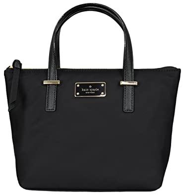 b9bb0e9ff74 Amazon.com: Kate Spade New York Adalyn Nylon Womens Bag (black): Shoes