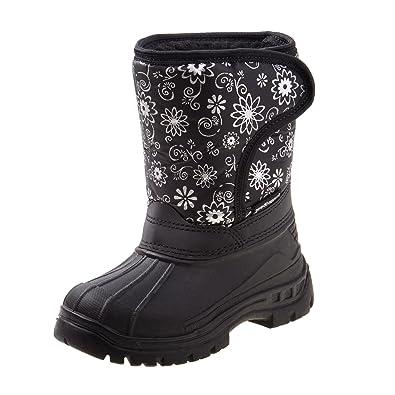 ec18f17d4b49 Rugged Bear Girls Snow Boots with Snowflake Print