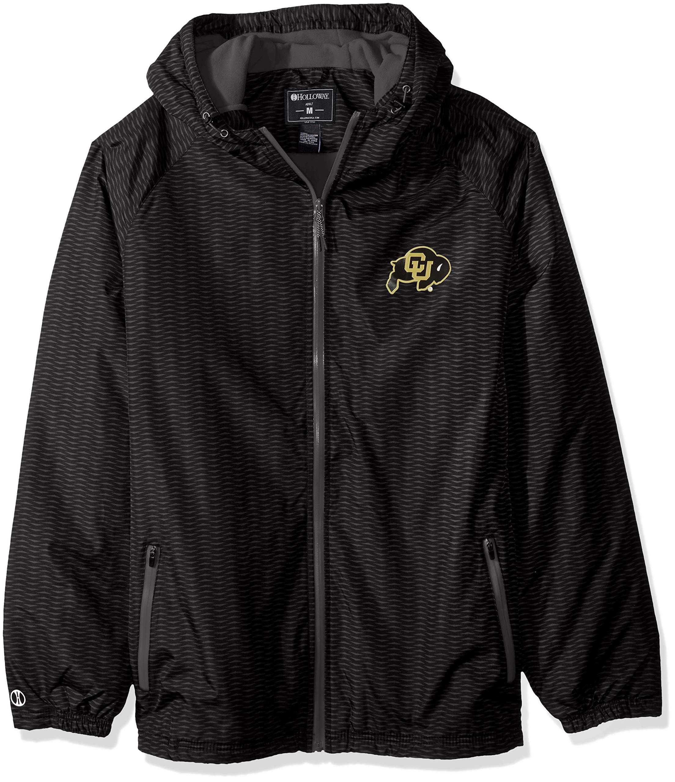 Ouray Sportswear NCAA Colorado Buffaloes Men's Range Jacket, Carbon, Small
