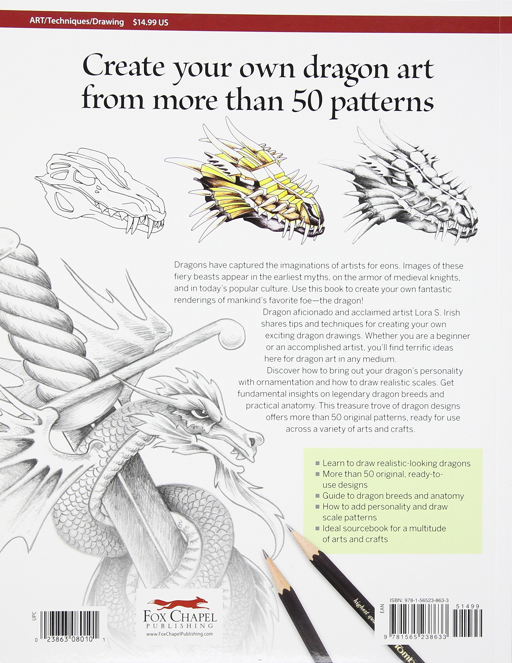 Learn To Draw Dragons Exercises And Patterns For Artists