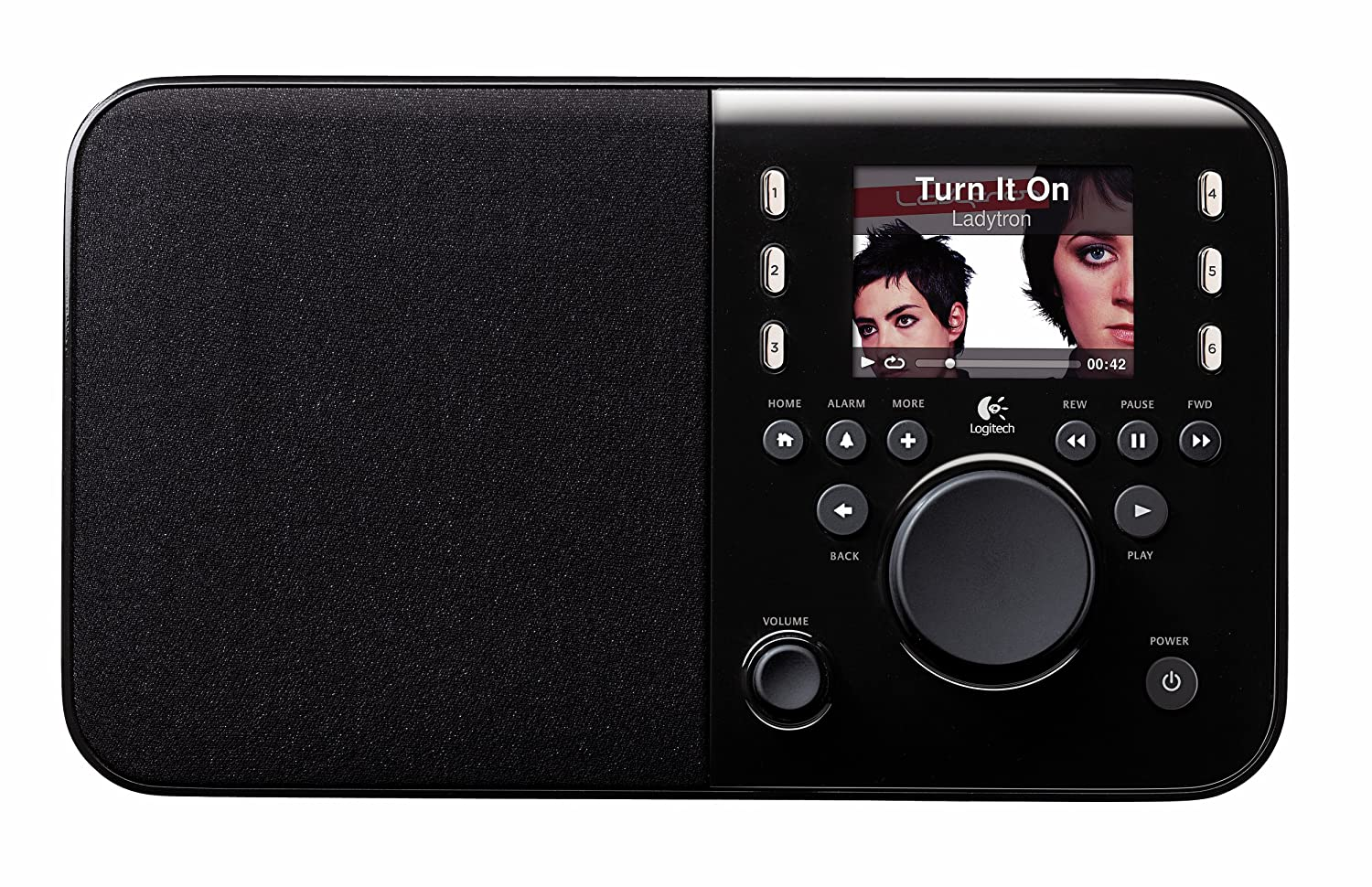 Logitech Squeezebox Radio - Black (discontinued by manufacturer):  Amazon.co.uk: TV