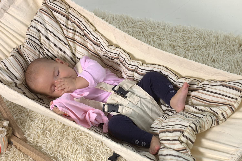 Koala Bag inkl Sunny Cacao AMAZONAS Koala Set Cacao Baby H/ängemattenset Koala Gestell 0-9 Monate bis 15 kg