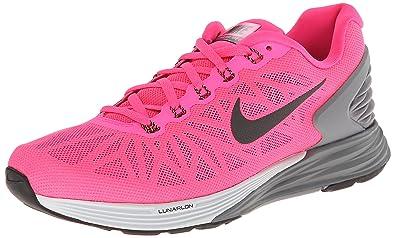 Women\u0027s Nike Lunarglide 6 Running Shoe Hyper Pink/Pure Platinum/Cool Grey/ Black