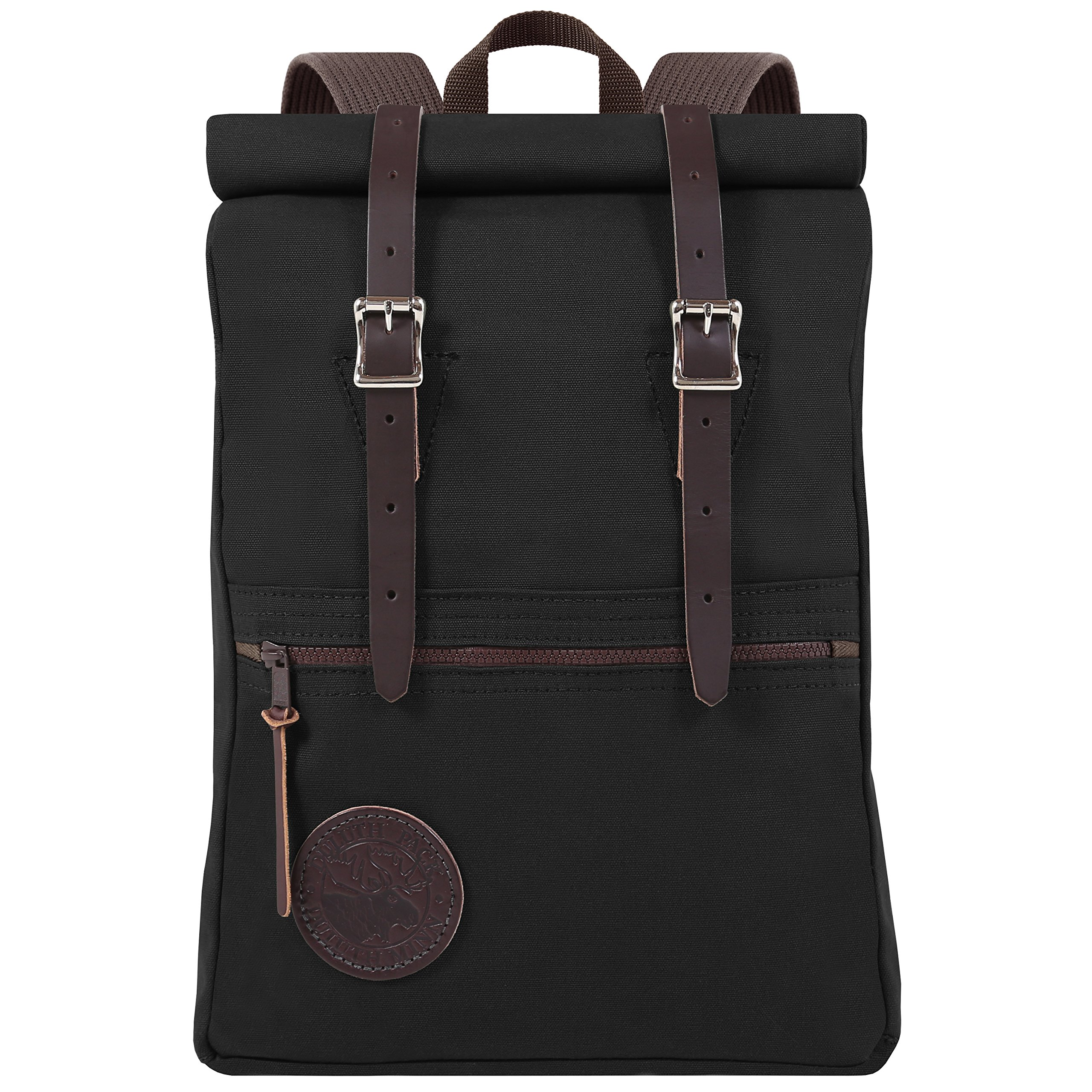 Duluth Pack Scout Rolltop Pack (Black)