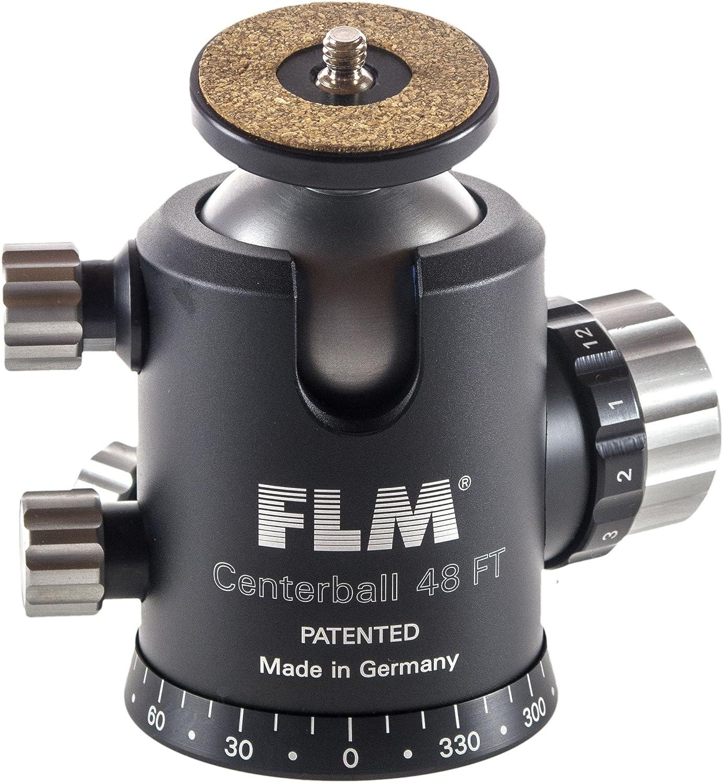 Tilt FLM CB-48 FTR 1.8 Ball Head with Friction 99 lbs Load Capacity