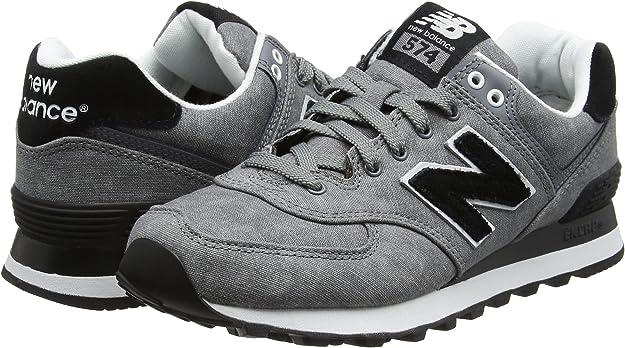 New Balance WL574SWC B - Zapatillas para Mujer, Gris (Grey), 35 EU ...