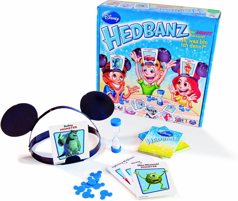 Hedbanz Disney - Juego de mesa (Spin Master Games) [versión en aleman]: Amazon.es: Juguetes y juegos