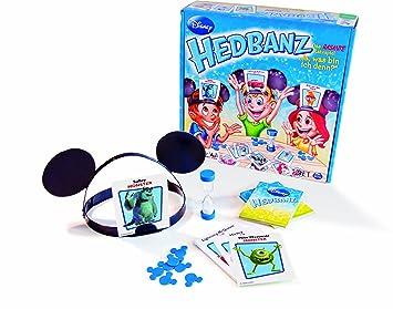 Spin Master Hedbanz Disney Juego De Mesa Games Version En Aleman