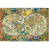 Buffalo Games - Vintage World Map - 2000 Piece Jigsaw Puzzle