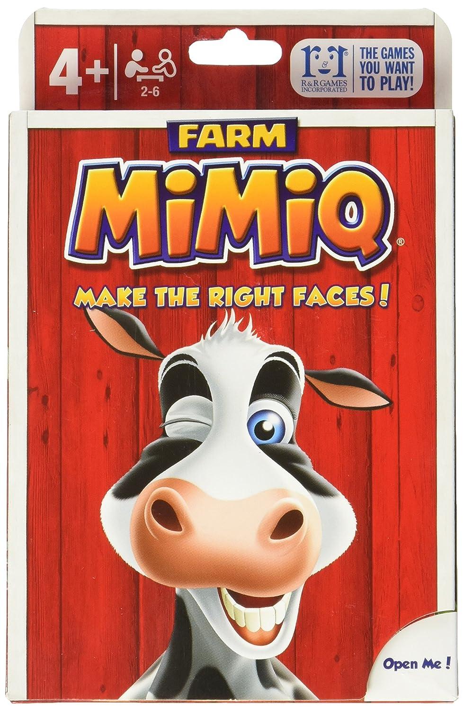 R  R Games Farm MiMiQ Card Game