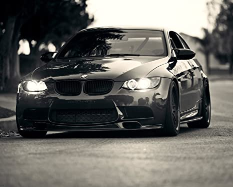 Amazon.com: BMW M3 Póster de coche Decoración de pared alta ...