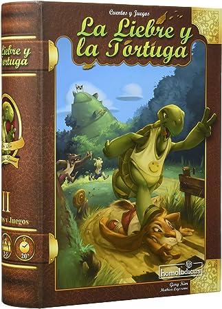 Devir Iberia 925708 La Liebre Y La Tortuga: Amazon.es: Juguetes y juegos
