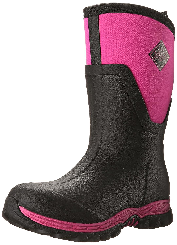 Muck Boot Women's Arctic Sport II Mid Snow B00TT36Q66 10 B(M) US|Black/Pink