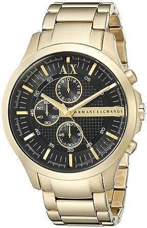 amazon com armani exchange men s ax2137 gold watch armani armani exchange men s ax2137 gold watch