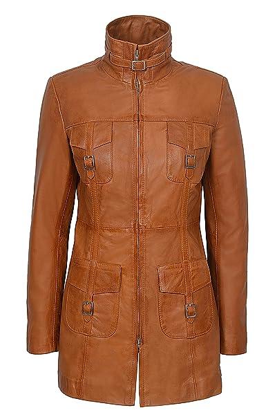 Vintage marrón Traje de Neopreno para Mujer Amante Lavar diseño de Estilo con una Chaqueta de Cuero de Pared para Abrigos diseño gótico: Amazon.es: Ropa y ...
