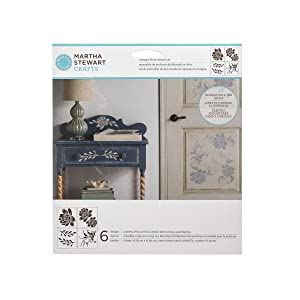 Martha Stewart Crafts 33558 Martha Stewart Vintage Decor Blossom Stencil