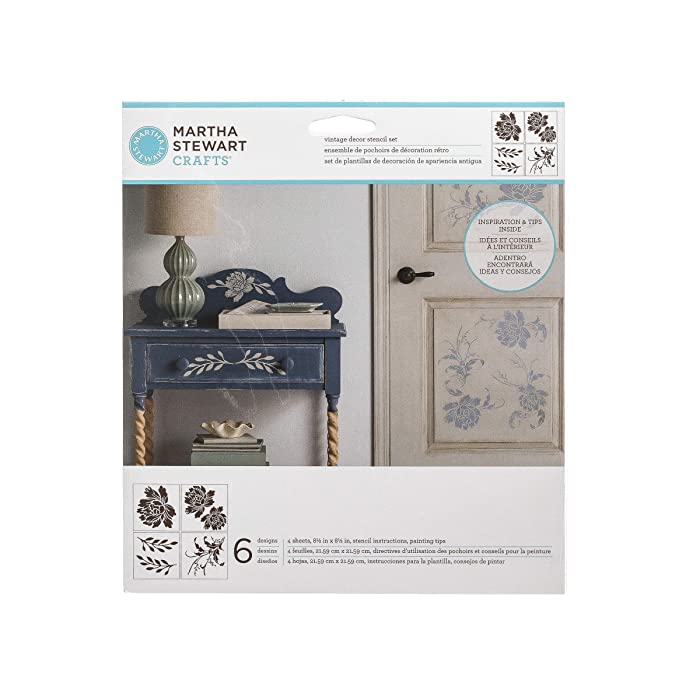 Top 9 Martha Stewart Vintage Decor Stencils