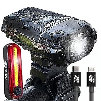Blitzu Gator 380 Usb Rechargeable Bike Light Set