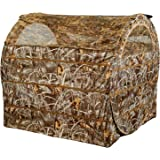 Ameristep 1R42S040DFR Duck Commander Bale Out Hunting Blind, Realtree Max 5