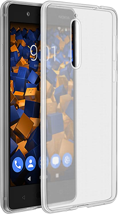 mumbi Funda Compatible con Nokia 8 Sirocco Caja del teléfono móvil ...