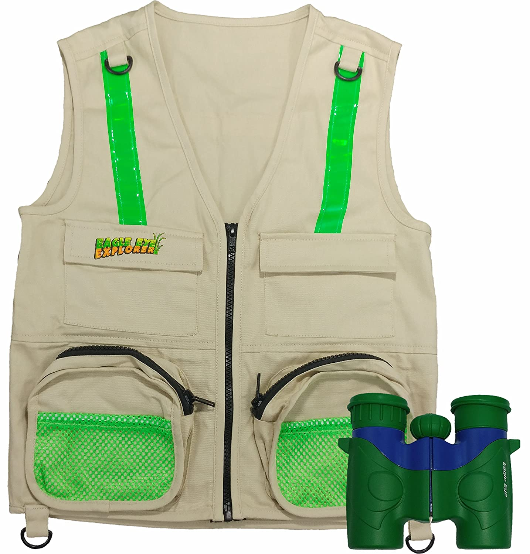 amazon com combination set eagle eye explorer cargo vest for