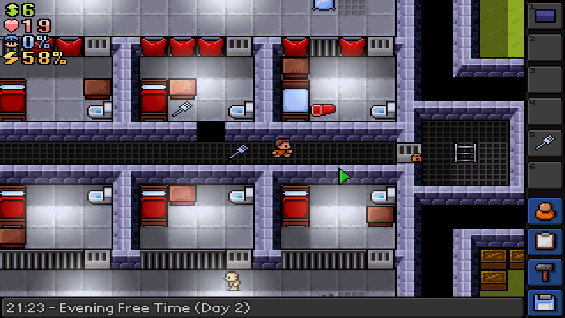 The Escapists - Fhurst Peak Correctional Facility [Online Game Code] by Team17 (Image #5)