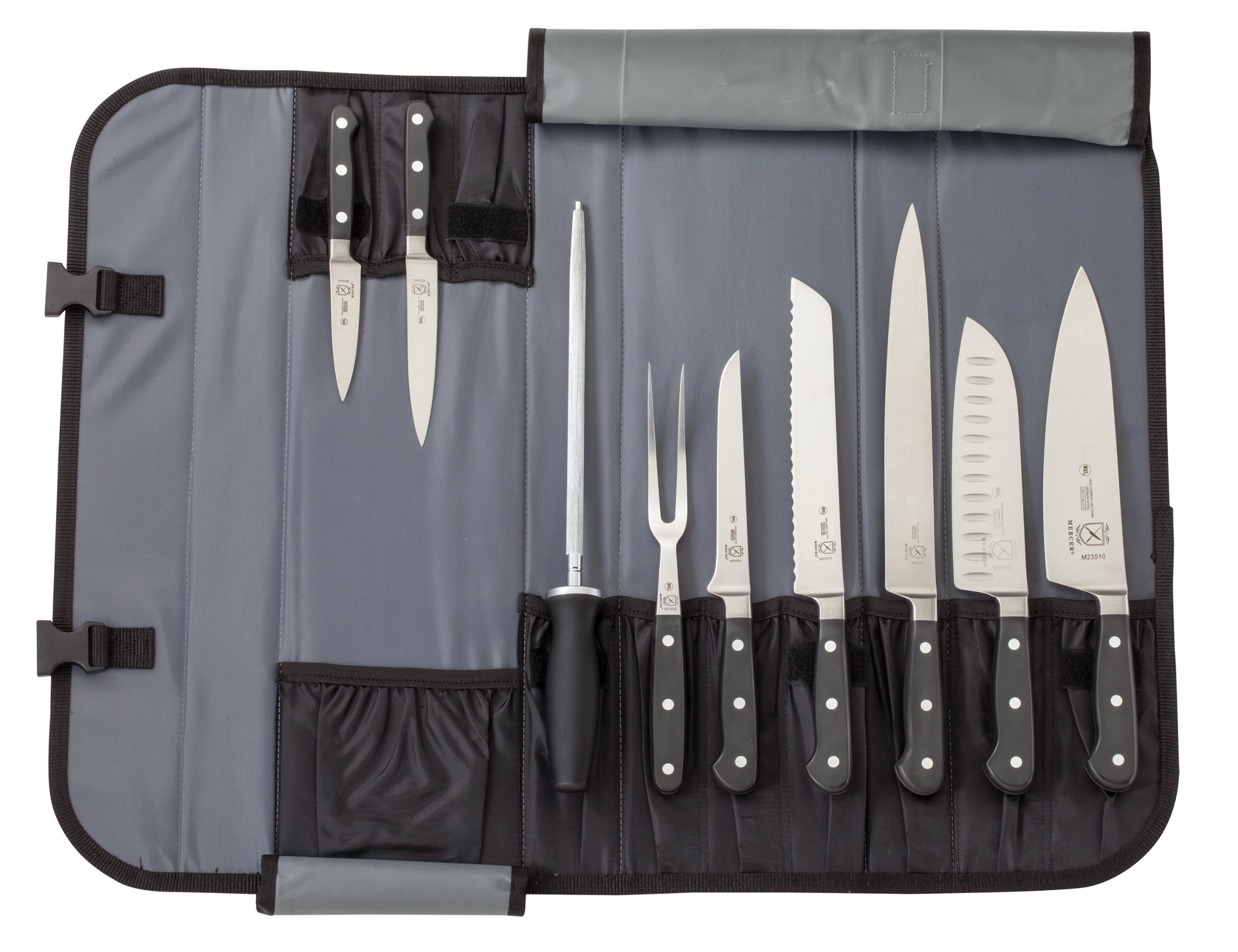 Mercer Culinary 10-Piece Forged Renaissance Knife Set