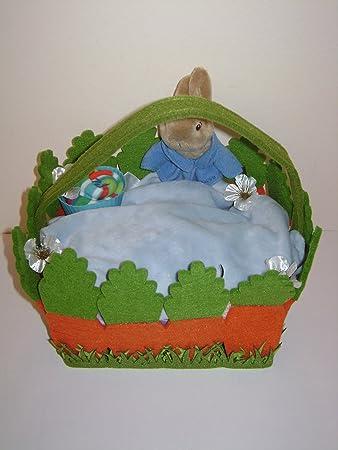Baby boy peter rabbit gift basket gorgeous baby shower new baby boy peter rabbit gift basket gorgeous baby shower new parent easter gift negle Images