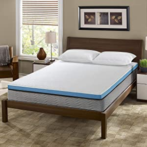 I Love My Pillow Out Cold Copper Mattress Topper (King)