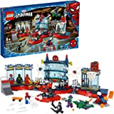 LEGO Marvel Spider-Man Attack on The Spider Lair 76175 Cool Building Toy, Featuring The Spider-Man Headquarters; Includes Spi