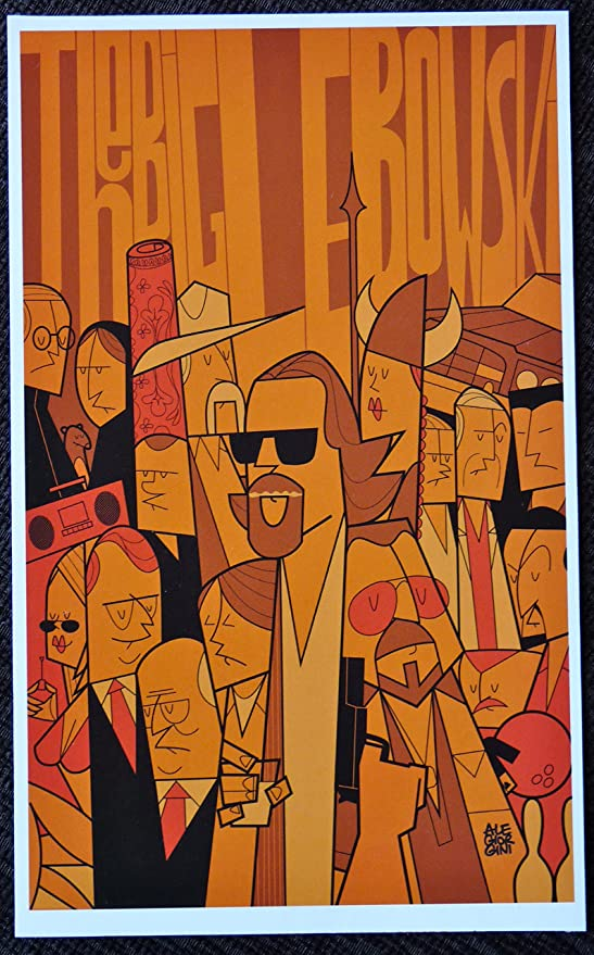 THE BIG LEBOWSKI   FILM MOVIE  METAL TIN SIGN POSTER WALL PLAQUE