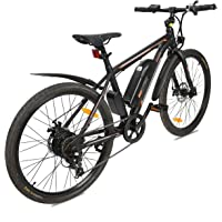 "ECOTRIC New City Travel 26"" Electric Bike Mountain 350W Power 36V/9AH Lithium Battery City Ebike —— Most parts have been assembled before packaging —— 21.12 mph/h Pure electric maximum speed"