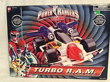 Power Rangers Turbo 7 in 1 Turbo RAM Robotic Arsenal Mobilizer