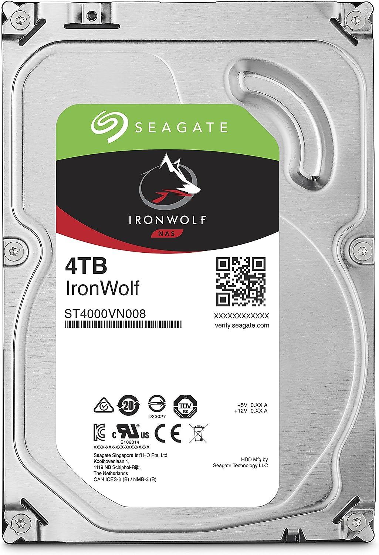 Seagate Ironwolf Nas 4tb 3 5 Zoll Sata 6gb Elektronik