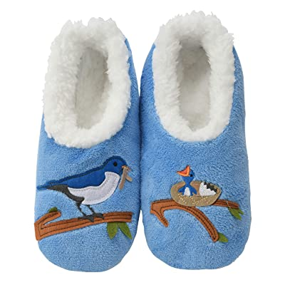 Snoozies Pairables Womens Slippers - House Slippers - Mother Bird: Clothing