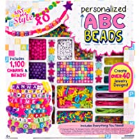 JUST MY STYLE Personalizado ABC Beads Kit, Billante, Brillante