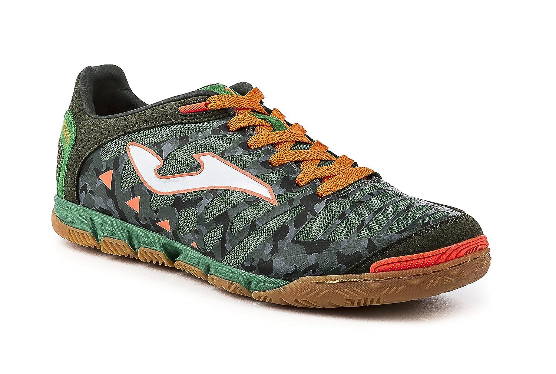 Joma Super Regate, Zapatilla de fútbol Sala, Verde Camuflaje-Naranja: Amazon.es: Zapatos y complementos