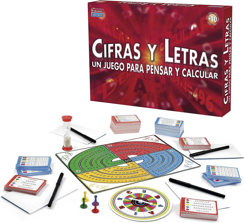 Falomir - Juego Cifras Y Letras 32-1311: Amazon.es: Juguetes y juegos