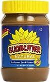 SunButter Natural Sunflower Seed Spread, 16 oz Plastic Jars