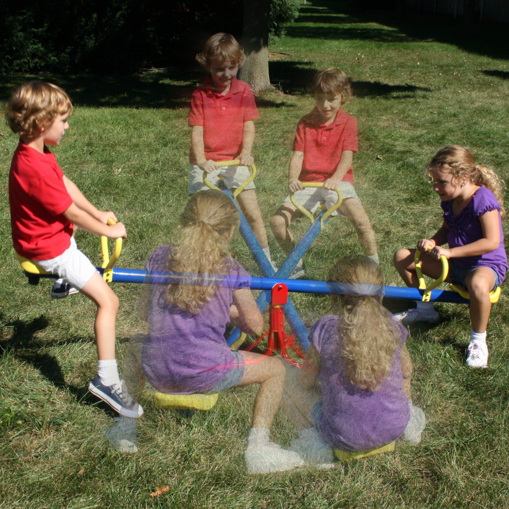 Swing N Slide See Saw Spinner