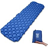 MyRonin Ultralight Outdoor Sleeping Pad, Inflatable, Moisture-proof, with Bag, Compact for Camping, Backpacking, Hiking, Tents, Traveling, Super Comfortable Air-Support Cells Design