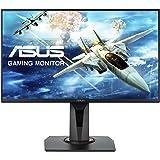 "Asus VG258Q Esports Monitor Gaming 24.5"", FHD (1920x1080), 1 ms, Fino a 144 Hz, DP, HDMI, DVI-D, Narrow Bezel, FreeSync, Compatibiltà G-Sync, Low Blue Light, Flicker Free"