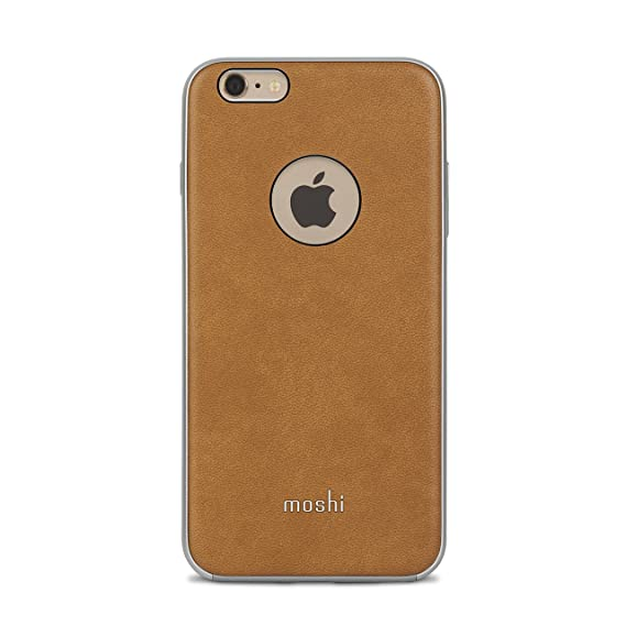 new style 5416a 71757 Moshi iGlaze Napa Vegan Leather iPhone 6 Plus / 6s Plus Case - Tan