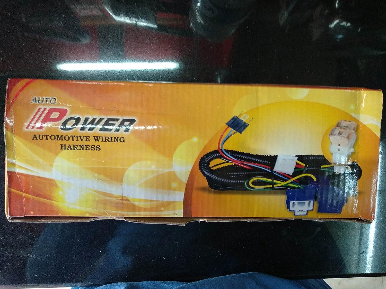 Satpro H4 Headlight Wiring Harness Kit With Relay For Carssuvs And Honda Headlamp Wire Lcvs Car Motorbike