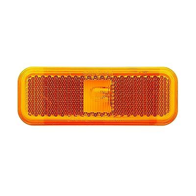 Optronics MC44AS Mark Light Rect 2Wire Amber: Automotive