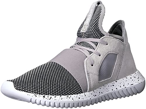 sale retailer 9da37 0103d adidas Originals Women s Tubular Defiant Running Shoe, Clear Granite Chrome  White, (